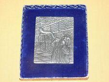 "New listing Vintage 5"" X 4 1/4"" Blowing The Shofar Wailing Wall Jerusalem Wall Plaque Decor"