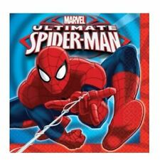 Marvel Ultimate Spiderman 16 x Luncheon Napkins Party Supplies