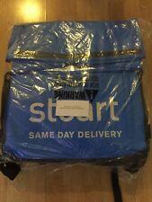 Brand New Blue Stuart Roll Top Thermal Backpack Original Stuart Bag