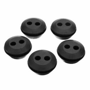 5pcs 2 Hole 20mm Black Assortment Mayitr Grommets And Eyelets Circle Replacement