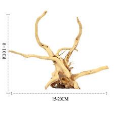 15-20cm Driftwood Piante Legno Albero Tronco Decorazione Acquario Vasca UK
