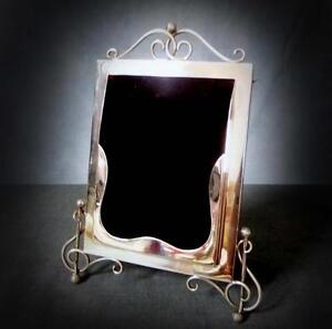 SUPERB STERLING SILVER RING PICTURE FRAME - 1902