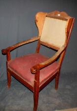 Biedermeier Ohrenbacken Kirschbaum Sessel ca. 1860/80 #2133