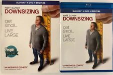 DOWNSIZING BLU RAY DVD 2 DISC FREE WORLD WIDE SHIPPING BUY IT NOW COMEDY MATT