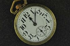 Vintage 16S Elgin Father Time 21J Pocket Watch From 1918 Running