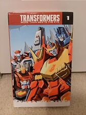Transformers More than Meets the Eye IDW Volumes 1-5 Box Set #1