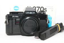 MINOLTA X-370s MPS Reflex Analogica X370 Body MD + Tracolla SRT |XE XM XG XD X|