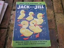 JACK and JILL APRIL 1961 USA VERY GOOD, TRES BON ETAT, WITH CENTRAL GAME