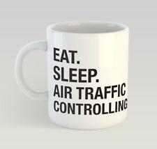Eat Sleep Air Traffic Controller Funny Mug Gift Novelty Humour Birthday Steward