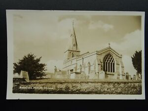 Peterborough WANSFORD St. Mary the Virgin Church - Old RP Postcard by Landscape