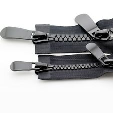#8 #15 TWO WAY Zip Up Open End Slider Resin Teeth Zipper 70 - 150CM For Coat/Bag
