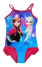 4 ans ROSE (104cm) * Maillot de bain 1 pièce LA REINE DES NEIGES Frozen Disney