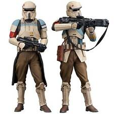 Star Wars Rogue One Scarif Shoretrooper Statues 2 Pack Kotobukiya ArtFX+ SW118