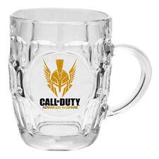 CALL OF DUTY Dimpled Glass Stein - Advanced Warfare - BBQ Beer Bar Mug