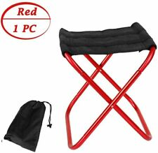 Mini Camp Stool, Lightweight Portable Folding Camp Chair, Outdoor Chairs Travel