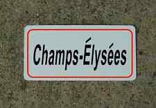 Champs-Elysees ROAD SIGN METAL TOUR DE FRANCE Bike Race ROUTE