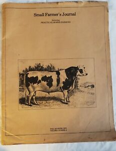 Vintage Catalog 'Small Farmers Journal Featuring Practical Horse Farming'