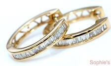 Huggie Yellow Gold 14k Fine Earrings