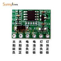 Solar Light Circuit Board Convenient Solar Control Panel Adjustable Brightness