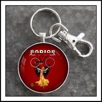 Vintage Radior Bicycle Ad Emblem  Photo Keychain  Gift 🎁