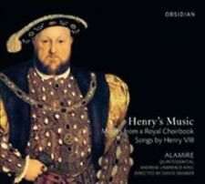 Henry's Music: Motets from a Royal Choirbook / Songs by Henry VIII (Audio CD)