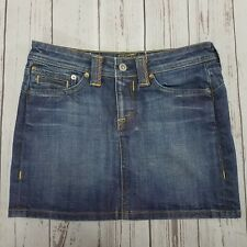 Kasil The Denim Garden Eleanor Mini Skirt Size XS By David Lim Made In USA -Used