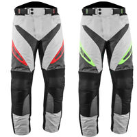 Motorbike Motorcycle Waterproof Cordura Textile Trousers Pants Armours for Men