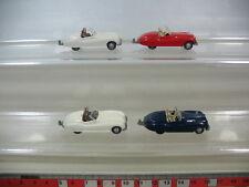 l16-0, 5 #4x WIKING H0 modelos/coches de modelismo, jaguar-sport 20 , TOP