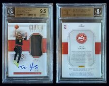Trae Young 2018 National Treasures Clutch 45 Patch Auto Rpa Rc Bgs 9.5 = Psa 10?