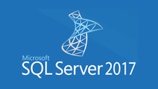 Microsoft SQL Server 2017 Enterprise License 20 Cores