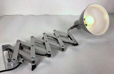 !! Scherenlampe SIS Sirius Labor Industrielampe Wand Leuchte Fotolabor Germany!!