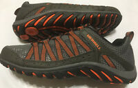 NIB MEN'S MERRELL HYMIST J362359C BELUGA/M. ORANGE HIKING SHOE SELECT SIZE $110