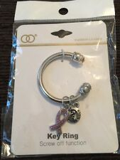 breast cancer awareness key ring