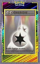 🌈Double Energie Incolore-XY12:Evolutions-90/108-Carte Pokemon Neuve Française
