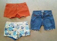 LOT OF 3 Twenty X ROXY MIKEN Size 5 short shorts Daisy Duke Flap Pockets Denim