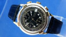 Vintage Rare Zeno Automatic Chronograph Watch Valjoux 7750 Watch NOS 1980S NEW