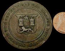 P553: 1810-14 Robert Blake, Norwich GRANDE RAME Twopence. BELL 910