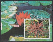 Fujeira 1972 ** Bl.135 A Blumen Flowers