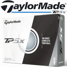 TAYLORMADE TP5X 2017 MODEL 5 PIECE WHITE GOLF BALLS 1 DOZEN / SALE @ 40% OFF RRP