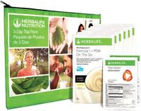 HERBALIFE 3-Days Trial Pack Nutrition Program - Total Control Single & PDM