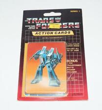 Thundercracker Sealed Pack Card #102 Transformers Trading Action Cards 1985 G1