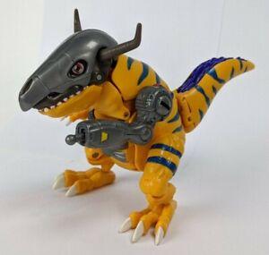 "Bandai Digimon 6"" Digivolving Metal Wargreymon Action Figure Greymon #2"
