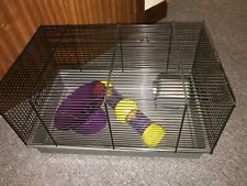 Hamster Gerbil Rat cage with accessories