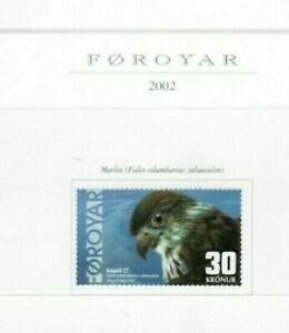 s31499) FAEROER 2002 MNH** Bird of prey 1v 30 kr