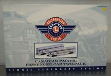 Vintage Lionel 6-39106 Postwar Celebration Canadian Pacific Passenger Car Set