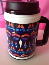 NEW Victoria's Secret PINK® Graphic Travel Mug Coffee Cup Lidded 24oz Hot/Cold
