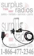 Two Wire Surveillance Headset Mic For Motorola Xts5000 Xts3000 Xts2500 Xts1500