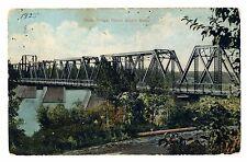 1920's Sask. Bridge, Prince Albert, Saskatchewan, Canada Postcard