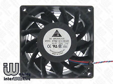 DELTA 120mm 12CM 12038 3-Pin Powerful Brushless 3.0A 3750 RPM Server Case fan
