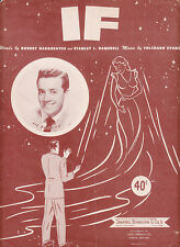 If -1934-Robert Hargreaves/Tolchard Evans-Sheet Music
